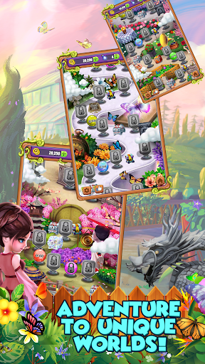 Mahjong Gardens: Butterfly World screenshots 15