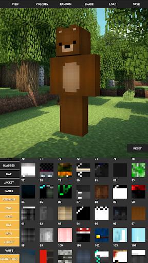 Custom Skin Creator For Minecraft apktram screenshots 6