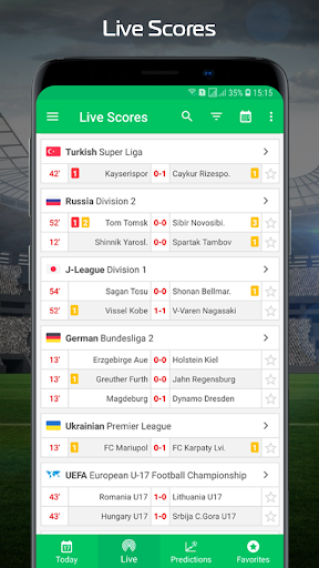Football.Biz Live Score 2.0.2 Screenshots 1