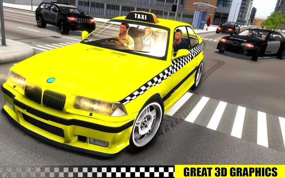 Captura de Pantalla 7 de simulador de aparcamiento de taxis 3D de varias para android