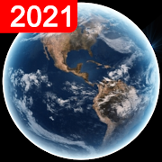 Live Earth Map 2021- WebCams, GPS & Satellite View