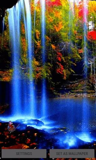 Waterfall Magic Live Wallpaper 3 screenshots 1