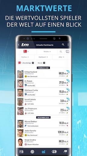 Transfermarkt: Fuu00dfballnews, Bundesliga, Liveticker 2.4.2 Screenshots 5