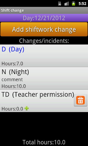 my shiftwork free screenshot 3