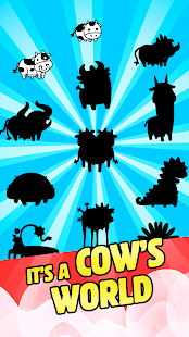 Cow Evolution: Crazy Cow Making Idle Merge Games