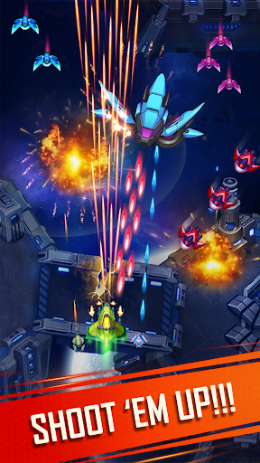 WindWings: Space shooter, Galaxy attack (Premium) apkmr screenshots 2