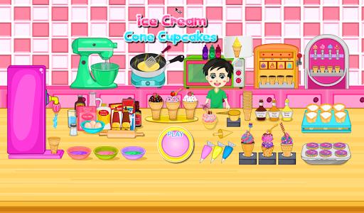 Cooking Ice Cream Cone Cupcake 10.641 screenshots 1
