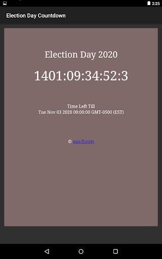 US Presidential Election Day 2020 Countdown 2.0 screenshots 2