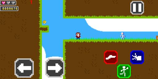 freesur 8 bit retro game screenshot 3