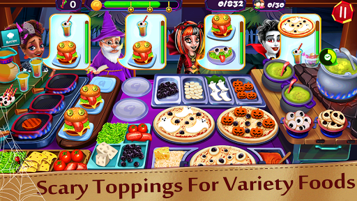 Halloween Cooking : Chef Restaurant Cooking Games apktram screenshots 24