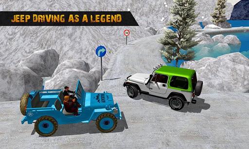 Offroad Jeep Driving Simulator : Real Jeep Games Apkfinish screenshots 5