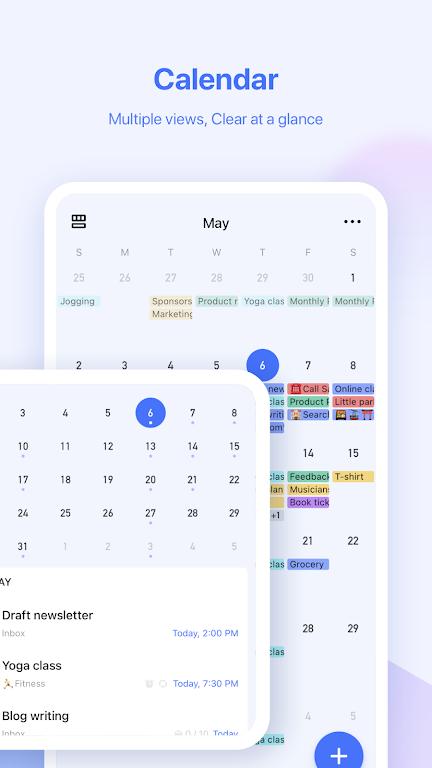 TickTick: ToDo List Planner, Reminder & Calendar poster 2