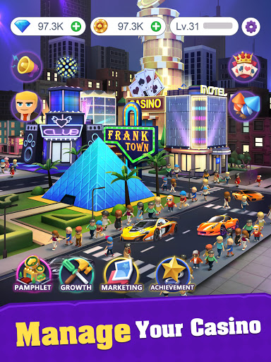 Crazy Night:Idle Casino Tycoon screenshots 6