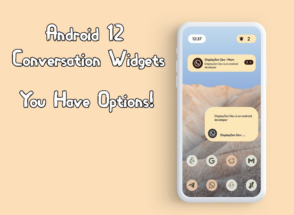 Android 12 Widgets KWGT  poster 4