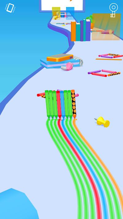 Pencil Rush 3D Android App Screenshot