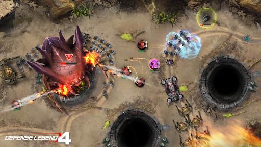 Defense Legend 4: Sci-Fi Tower defense  screenshots 10