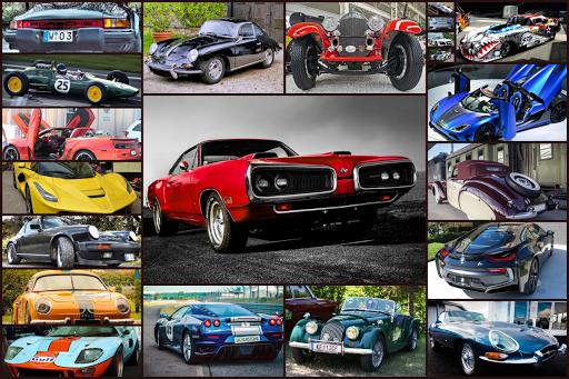 Sports Car Jigsaw Puzzles Game - Kids & Adults ud83cudfceufe0f screenshots 1