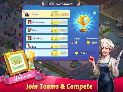 Tasty Cooking Cafe & Restaurant Game: Star Chef 2 23