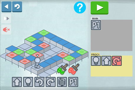 Descargar Lightbot : Programming Puzzles para PC ✔️ (Windows 10/8/7 o Mac) 6