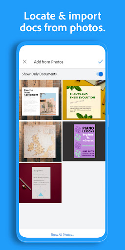 Adobe Scan: PDF Scanner with OCR, PDF Creator android2mod screenshots 8