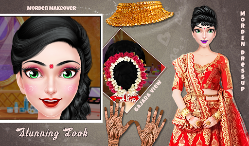 South Indian Arranged Wedding Makeover Salon apktram screenshots 3