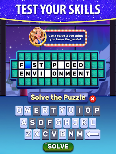 Bubble Pop: Wheel of Fortune! Puzzle Word Shooter  screenshots 11