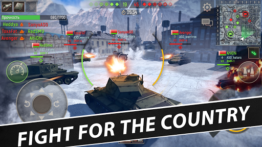 Battle Tanks: Game - Free Tank Games Military PVP  screenshots 23