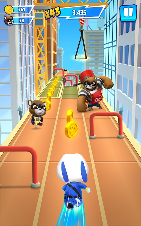 Talking Tom Hero Dash - Run Game  poster 17