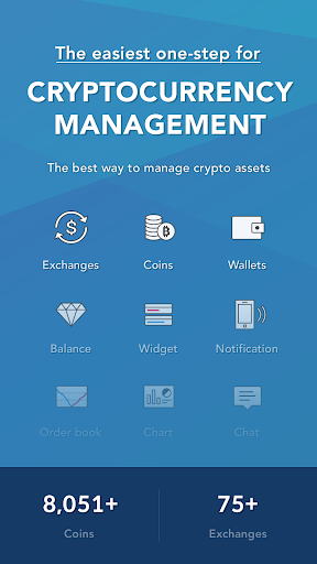 coinmanager- bitcoin, ethereum, ripple finance app screenshot 1