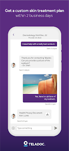 Teladoc | Online Doctors, Therapy & Nutrition 4.7 Screenshots 7