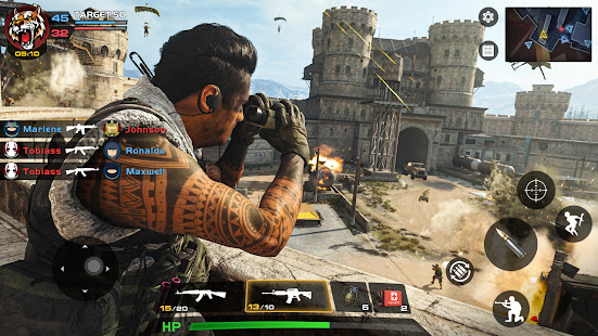 Special Ops 2020: Multiplayer Shooting Games 3D 1.1.6 Screenshots 8