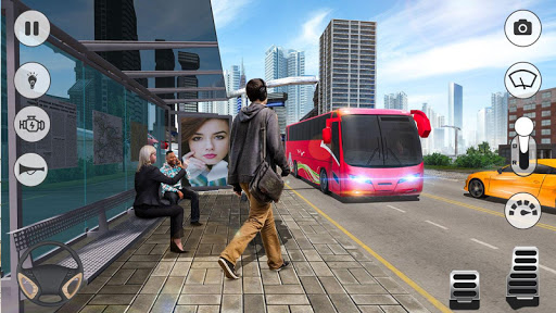 Bus Games - Coach Bus Simulator 2021, Free Games  Screenshots 13