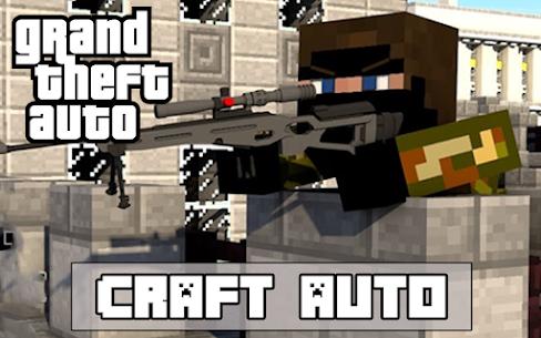 Craft Theft Auto for GTA Minecraft 2021 5