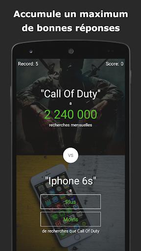 Le jeu du Plus ou Moins u2b06  screenshots 3