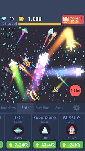 Idle Rocket - Aircraft Evolution & Space Battle  screenshots 6