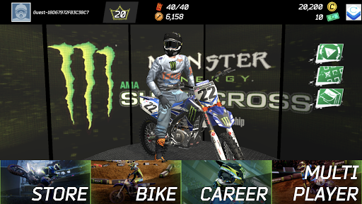 Télécharger gratuit Monster Energy Supercross Game APK MOD 1