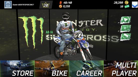 Monster Energy Supercross Game screenshots 1