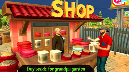 Grandpa Home Garden Family Game 1.3 screenshots 1