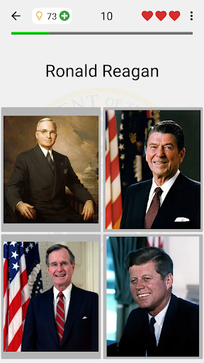 US Presidents and Vice-Presidents - History Quiz screenshots 2