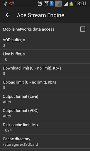 Ace Stream for Android TV 3.1.63.2 Screenshots 2