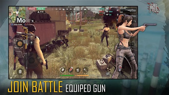 ScarFall : The Royale Combat Apk Mod + OBB/Data for Android. 7