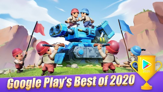 Top War: Battle Game Apk Mod + OBB/Data for Android. 1