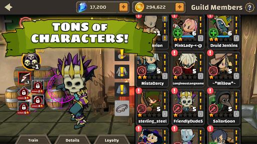 Raid Boss: Role-playing boss game, action battles screenshots 3
