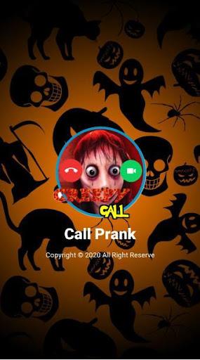 Creepy Call from Momo - Call prank  screenshots 1