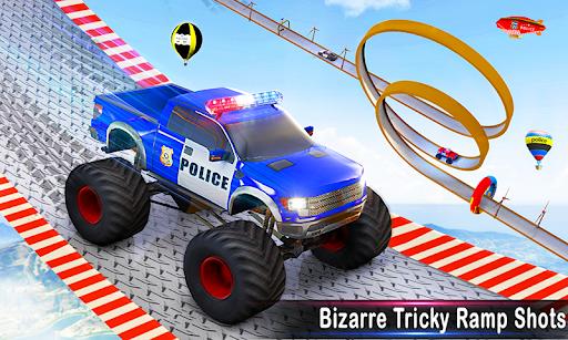 Police Ramp Car Stunts GT Racing Car Stunts Game android2mod screenshots 3