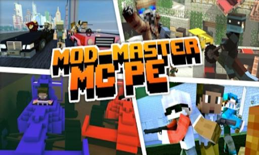 Master Mods for minecraft PE - mod mcpe Addons  Screenshots 4