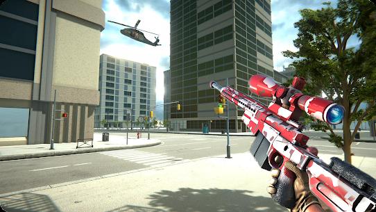 Sniper Mission 3D Mod Apk: New Assassin Games (God Mode) 3