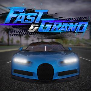 Fast&ampGrand: Car Driving Simulator Free Roam Games