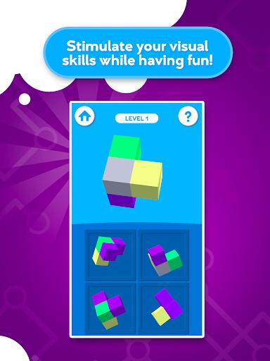 train your brain - visuospatial games screenshot 1
