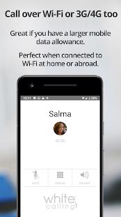 White Calling – international calls / send airtime